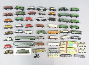 W 79941 Große Sammlung wertvoller Spur TT Eisenbahnwagen