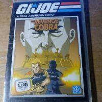 Gi Joe, The Revenge Of Cobra DVD **BRAND NEW** SEALED