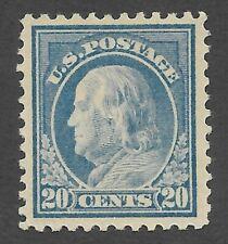US Scott #515 Mint OG LH XF 20c Franklin
