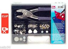 VARIO - Plus Sortiment Kasten Druckknöpfe Loch und  Ösen Zange  Nr. 651420 Prym