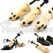 One Pair Women Shoe Stretcher 2-Way Wood Ladys Shoes Stretcher Sizes From 5-10
