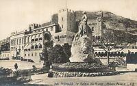 Monaco - cpa - Le Palais du Prince