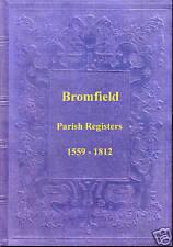 Genealogy - Bromfield Parish Registers (Shropshire)