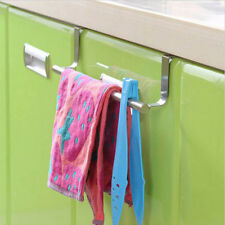 36cm Towel Rail Bar Holder- Kitchen Over the Door Cabinet Storage Hanger