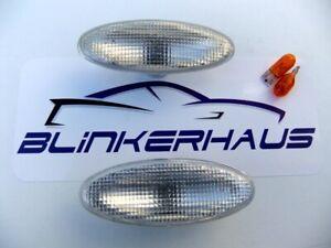 JAGUAR S-TYPE R XK 8/XKR CABRIO XJ X350 SPORT CLEAR FENDER SIDE MARKERS LIGHTS