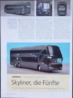 SAMMELN NEOPLAN SKYLINER BUS in 1-87 von RIETZE....ein Modellbericht