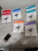 Lot Of Seven Piano Adventures Books