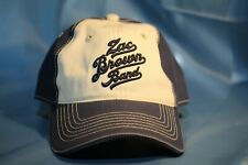 Zac Brown Band Hat Cap Southern Ground Blue Cream Excellent Condition!