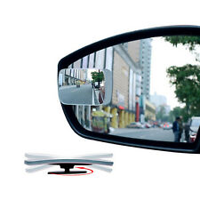 1x Universal Auto Car 360° Wide Angle Convex Rear Side View Blind Spot Mirror*-*