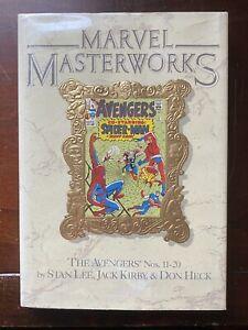 Marvel Masterworks Vol 9 The AVENGERS Nos. 11 - 20 - HC - Stan Lee - Jack Kirby