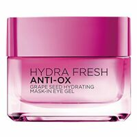 L'Oreal Paris Hydrafresh Anti-Ox Grape Seed Hydrating Mask-In Eye Gel