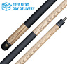 2 Piece BIlliards Pool Cue COBRA Mette - A Class Maple 50/50 Split Cue 13mm Tip