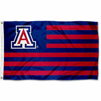 University of Arizona Wildcats Stars and Stripes Nation USA Flag