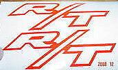 """R/T vinyl car decals (stickers) 4"""" X 2 1/2"""""""
