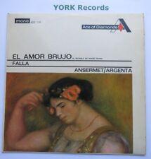 ADD 134 - FALLA - El Amor Brujo ANSERMET Suisse Romande - Ex Con LP Record