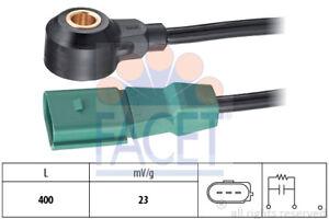 KNOCK SENSOR FITS AUDI A4 2.0 FSI AWA >12.04 FACET 9.3043