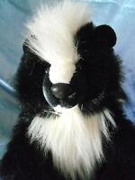 "Skunk plush stuffed realistic 16"""