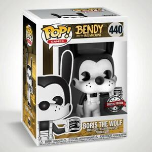 Funko POP! Bendy and the Ink Machine Boris the Wolf with Beans Special Edition
