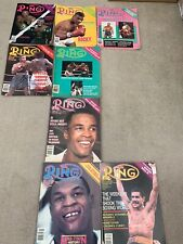 Ring Boxing Magazines 1986 8 Issues