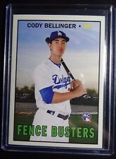 2017 Topps TBT 88 Cody Bellinger Dodgers 1967 Topps Fence Busters Design RC Card