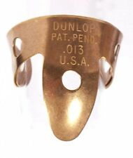 2-Pack of Dunlop Brass Fingerpicks - .013""