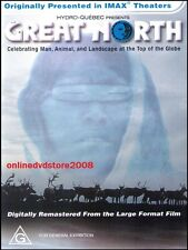 IMAX - GREAT NORTH - Experience North Pole Animals Landscapes - DVD (NEW SEALED)
