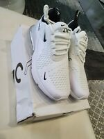 Nike Air Max 270 SIZE UK 7 CLEAN PEARL WHITE PREMIER Trainers Brand Never Worn