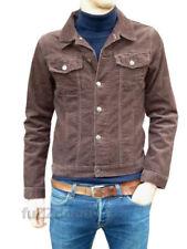 Ropa de hombre marrón color principal marrón de pana