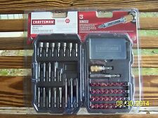 Craftsman 54 Piece Speed-Lok® Power Driving Set 26393 Insert Driver Nut Setter