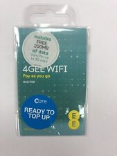 EE 4G Data Sim Mobile Broadband For iPad Tablet GPS Tracker Internet Data Dongle