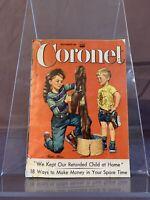 Coronet Magazine November 1955, Volume 39, No.1 • Ingrid Bergman •