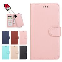 Flip Stand Detachable Cover Card Folio Wallet Magnetic Case Fr iPhone 11 Pro Max