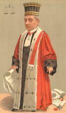 "VANITY FAIR CARTOON. M quesnay DE beaurepaire ""come procuratore generale"". diritto. 1893"