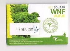nederland coincard EERSTE DAG VAN UITGIFTE WNF VIJFJE 2011