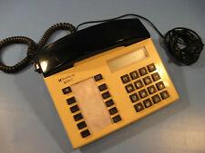 Telephon 1980.Jahre große Drucktastatur in beige Telekon IQ-Tel 2 mit Funktion