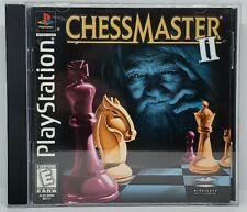 ChessMaster II Black Label Sony Playstation 1 PS1 Complete in Box CIB