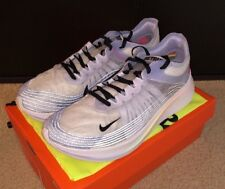 ffd0bdabf506b Mens Nike Zoom Fly Be True Running Shoes Size 12.5 White black palest Purple