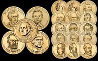 """Purchase One or Many 2007 Thru 2011 Presidential Dollar """"BU"""" Coins @ $3.29 each"""