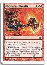 1 FOIL Hammer of Bogardan - Red Eighth 8th Edition Mtg Magic Rare 1x x1