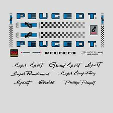 Peugeot PX10, PY10 Bicycle Stickers - Decals - Transfers - n.0358