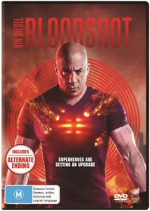 Bloodshot (DVD, 2020) Brand New & Sealed -  Region 4