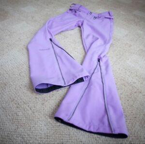 Volcom Nimbus Womens Small Lavender Purple Ski Snowboard Pants