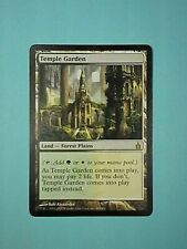 Temple Garden - Rare Land - NM —  Ravnica City of Guilds MTG