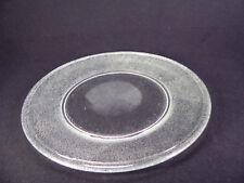 Schöner Platzteller aus Glas / Dekoteller Ø 32 cm
