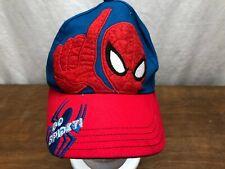 GO SPIDEY - CHILDS SPIDERMAN ADJUSTABLE STRAPBACK CAP HAT - 2012