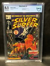 Silver Surfer #8 CBCS 8.5 Marvel comic  First Flying Dutchman!! NICE!!