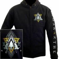 Amaranthe Helix Zip Hoodie Hooded Sweatshirt S-XXL Officl Band Hoody