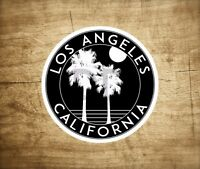 "Los Angeles California Decal Sticker  3"" x 3"""