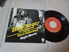 BOB SEGER NIGHT MOVES USA SINGLE PROMO UNIQUE COVER RARE