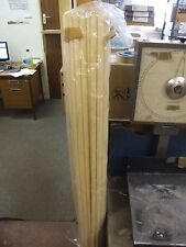 """50 WOODEN BROOM HANDLES / STALES 4FT X 15/16"""" BRAND NEW BARGAIN FREE SHIPPING!"""